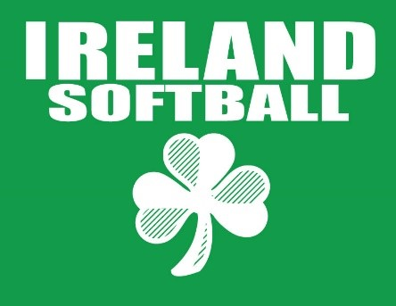 Ireland Softball Green Logo